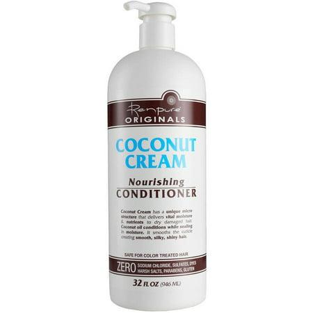 Renpure Originals Coconut Cream Nourishing Conditioner, 32 fl oz Creme Of Nature Nourishing Conditioner