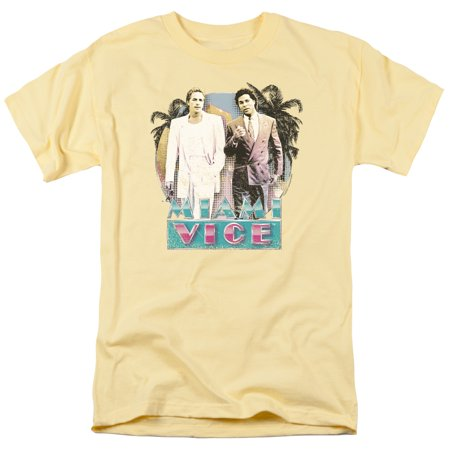 Miami Vice 80's Love Mens Short Sleeve Shirt