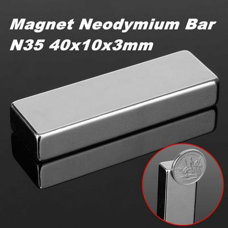 60x20x10mm N52 Block Strong Fridge Magnet Neodymium Permanent Rare Earth Magnet - Electro Permanent Magnet