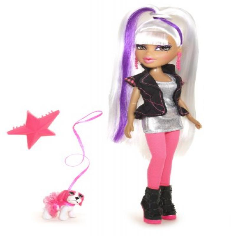 Bratz Neon Runway Doll Yasmin (Platinum and Purple) by MGA Entertainment