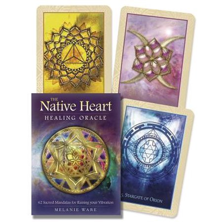 Native Heart Healing Oracle : 42 Sacred Mandalas for Raising Your Vibration