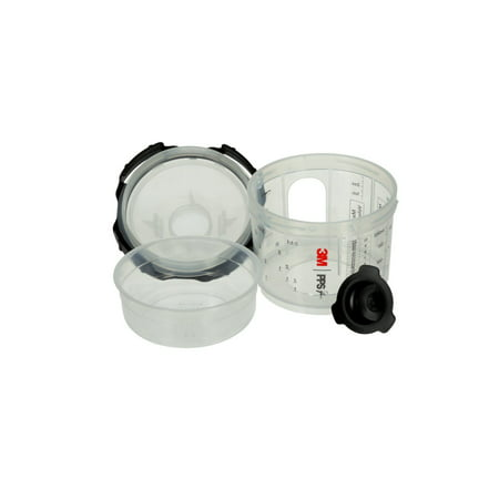 Ppi Series - 3M PPS Series 2.0 Spray Cup System Kit, 26328, Micro (3 fl oz, 90 mL), 125 Micron Filter, 1 kit