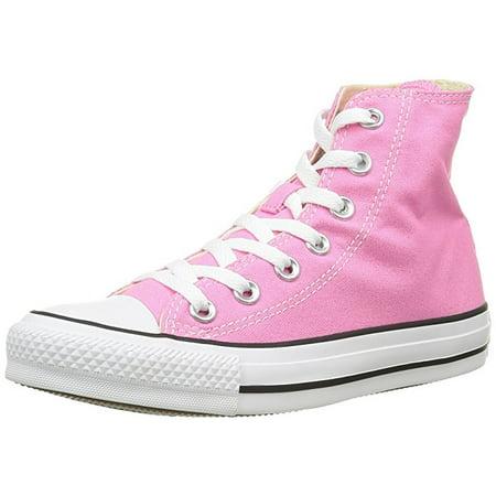 Converse M9006: Pink Chuck Taylor All Star High-Top Unisex Sneakers (Pink, 5.5 D(M) US Men / 7.5 B(M) US Women)