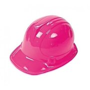 Pink Construction Hat (Receive 12 Per Order) by Fun Express