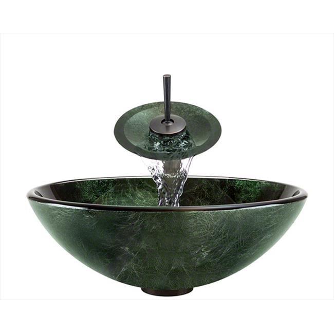 Polaris 629-WF-ORB Oil Rubbed Bronze Bathroom Waterfall Faucet Ensemble - image 1 of 1