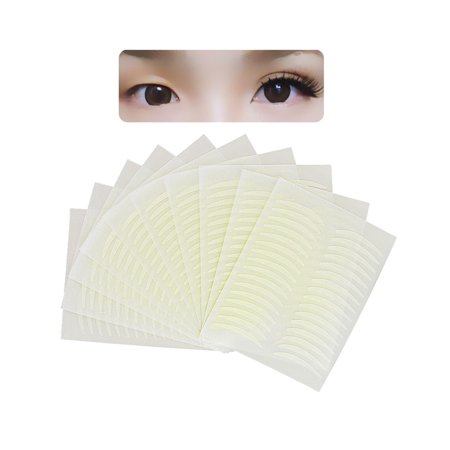 Eyelid Gel - Zodaca 160 pairs 2.2-mm Invisible Arch-shaped Double Eyelid Tape Stickers