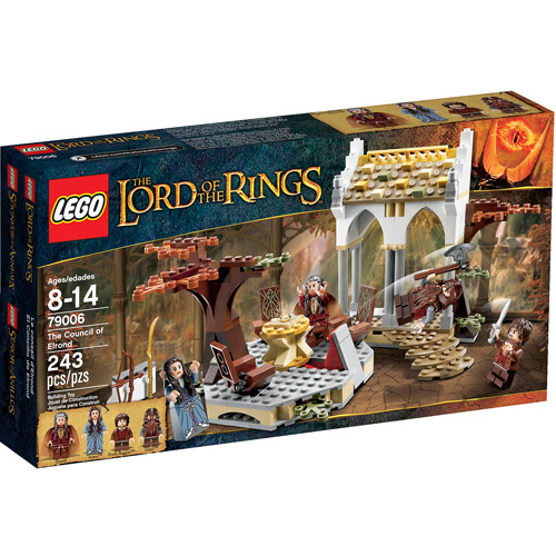 LEGO Lord of the Rings The Council of Elrond Play Set