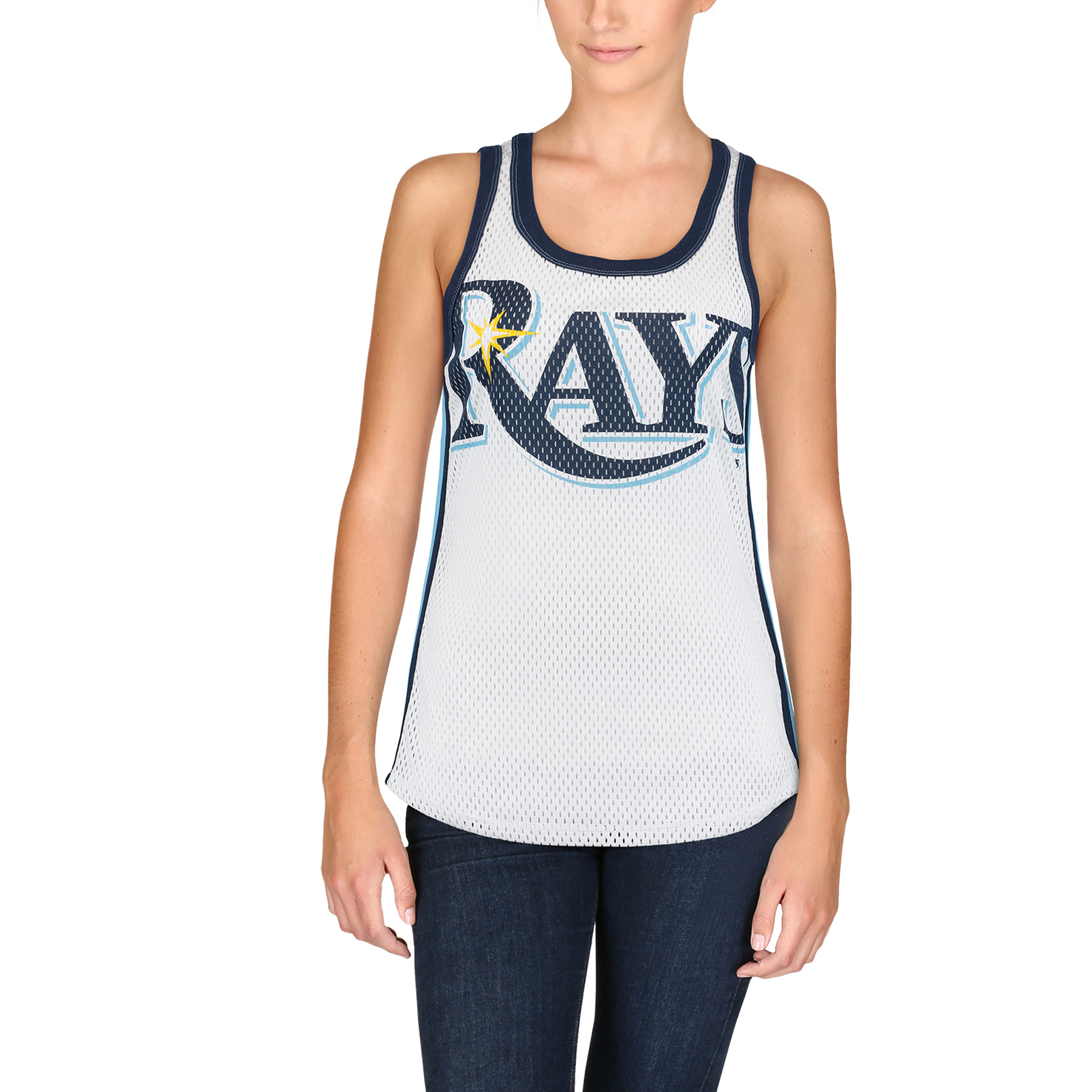 Tampa Bay Rays G-III 4Her by Carl Banks Women's Opening Day Tank Top - White