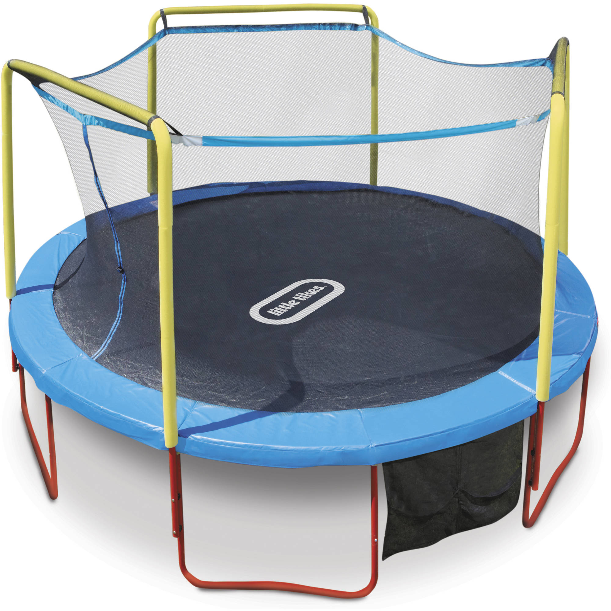 Little Tikes 14ft Huge Bounce Trampoline with Enclosure and Padded Frame