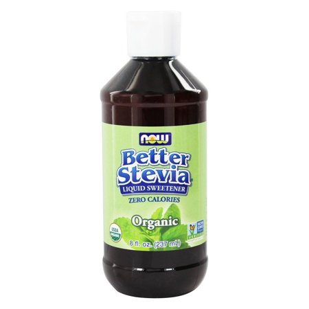 NOW Foods Better Stevia Organic Liquid Stevia Extract 8 fl