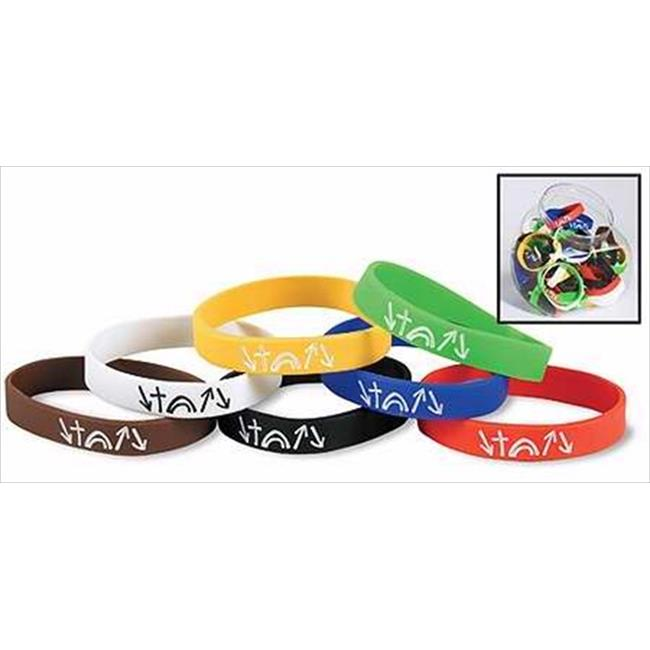 Christian Brands 210170 Bracelet Witness Silicone Bands With Display 7 Asst
