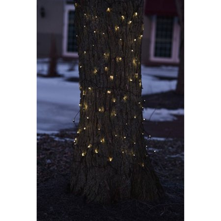Northlight 150 ct. LED Net Style Tree Trunk Wrap Lights with Brown Wire for $<!---->
