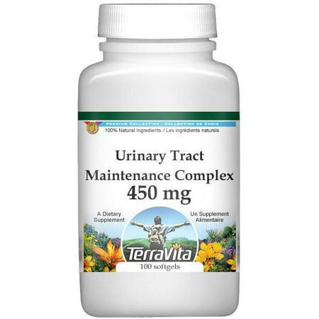 Des voies urinaires d'entretien complexe - Uva Ursi, hysope, Senna et plus - 450 mg (100 capsules, ZIN: 512184)