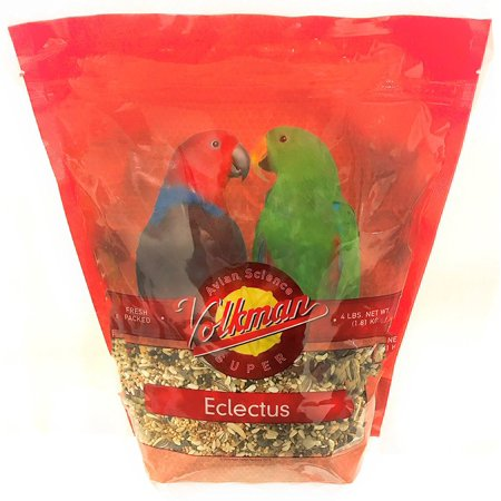 Volkman Seed Avian Science Super Eclectus Nutritionally Balanced Food 4lbs