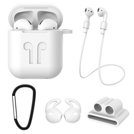 KABOER For Apple Airpods Case Protective Silicone Cover Airpod Earphone Charger Skin 5 Pcs\/Set(No Airpods,No Airpods Box) KABOER For Apple Airpods Case Protective Silicone Cover Airpod Earphone Charger Skin 5 Pcs\/Set(No Airpods,No Airpods Box)