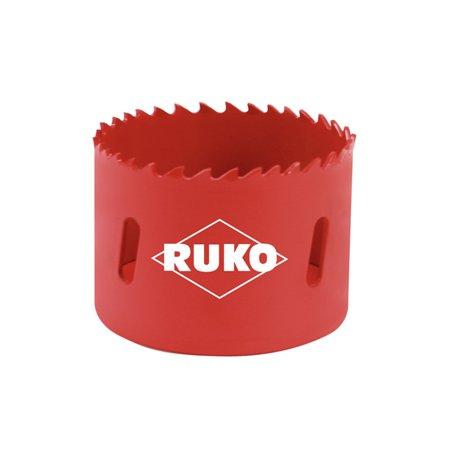 Ruko 106063 - HSS bi-metal hole saw - varied tooth Ø 63 -