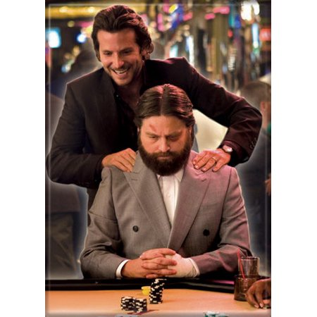 The Hangover Phil & Alan Gambling Magnet - Hangover Costume Alan
