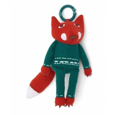 Donna Wilson Fox Chime Travel Toy By Mamas and Papas (Mamas And Papas Play Mat)