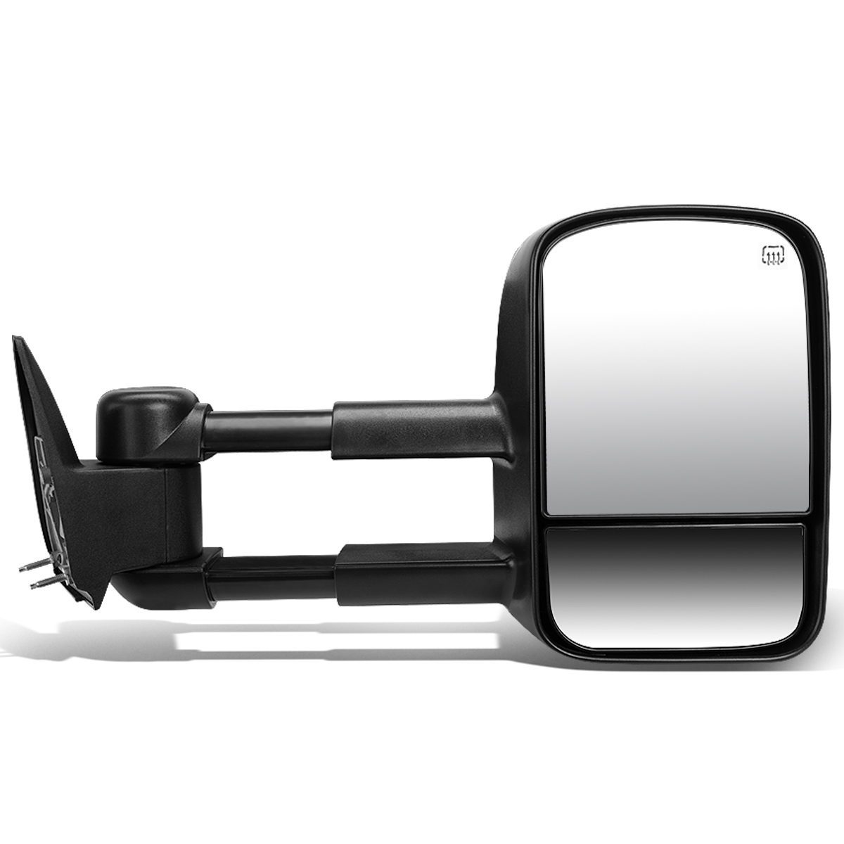 For 1999-2002 Chevy Silverado/GMC Sierra Powered Adjustment+Heated Towing Mirror (Right/Passenger)