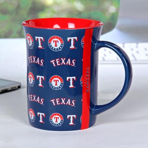 Texas Rangers 15oz. Line-Up Mug - No Size