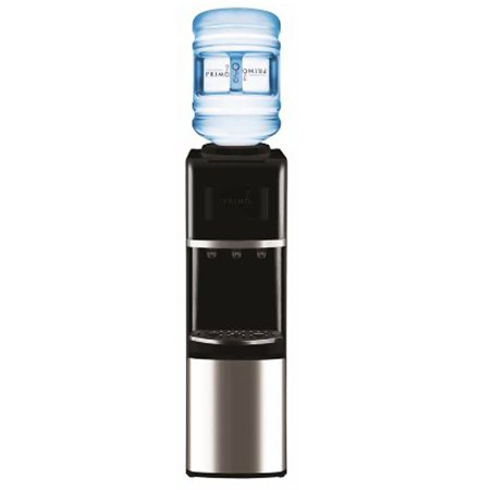 Primo Top Load Water Cooler  Stainless Steel Black