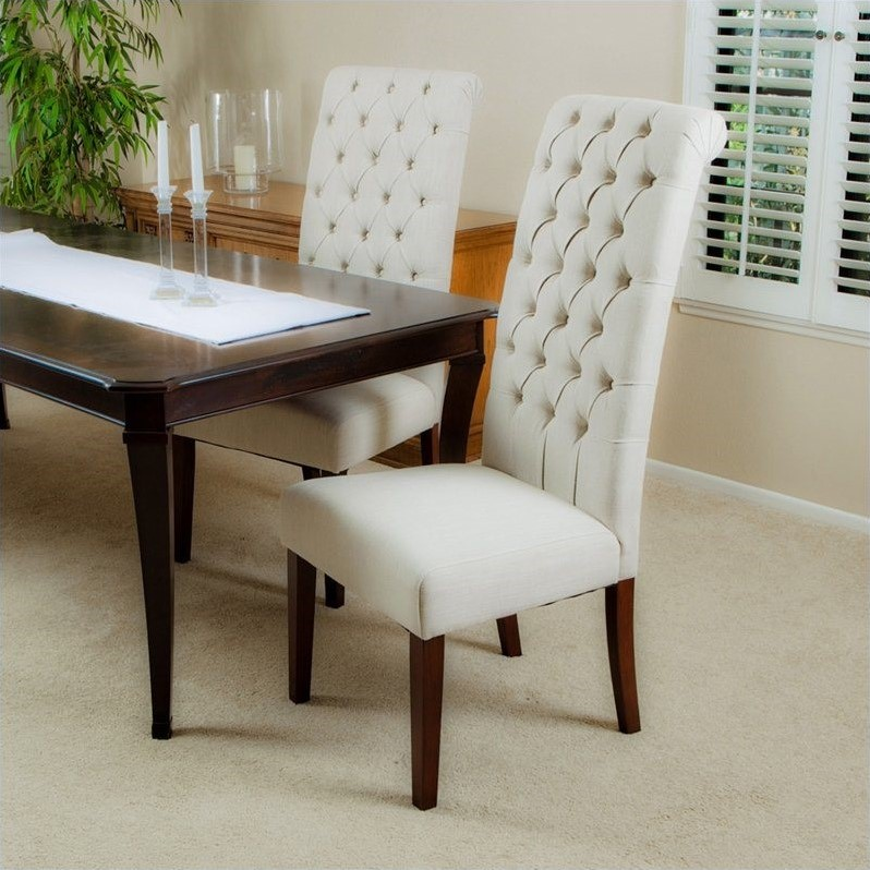 Trent Home Armando Dining Chairs in Natural (Set of 2)