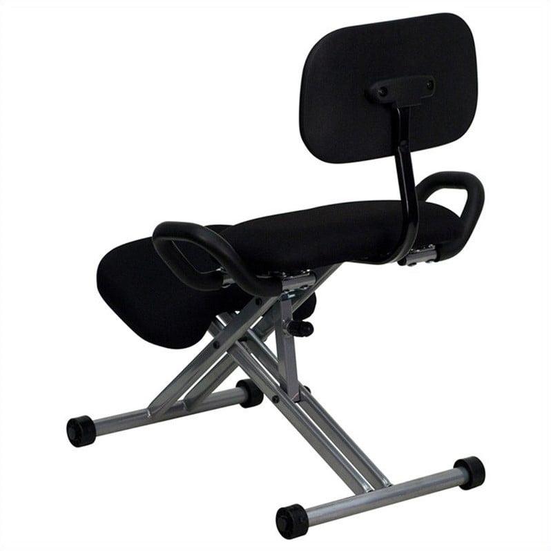 Flash Furniture Ergonomic Kneeling Office Chair In Black