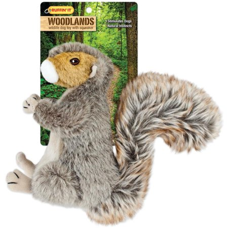 Rhode Island 16272 Ruffin? It - Woodlands Dog Toys, Wildlife ? Plush, Squirrel