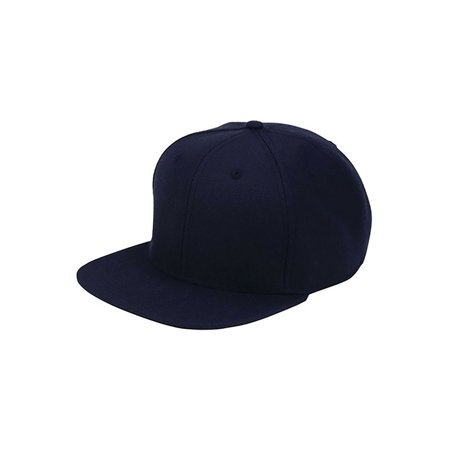 Top Headwear Wool Flat Bill Snapback Cap