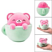 Furry Cat Scented Slow Rising Squishies Toy Squishes Stress Relief Toy for Kids
