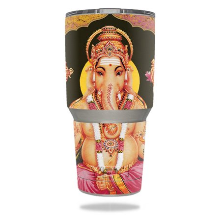 Skin For YETI 30 oz Tumbler - Hindu Elephant | MightySkins Protective, Durable, and Unique Vinyl Decal wrap cover | Easy To Apply, Remove, and Change Styles