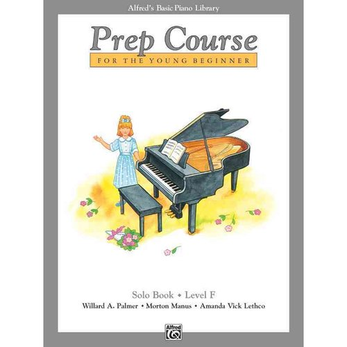 Alfred's Basic Piano Prep Course for the Young Beginner: Solo Book - Level F
