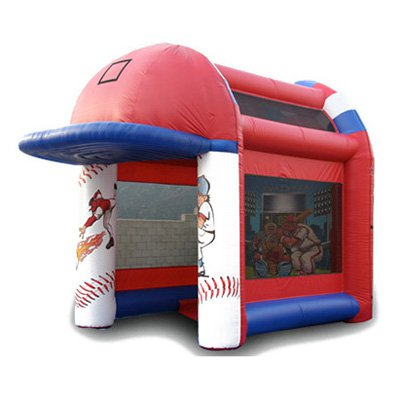 EZ Inflatables Deluxe Speed Pitch Bounce House