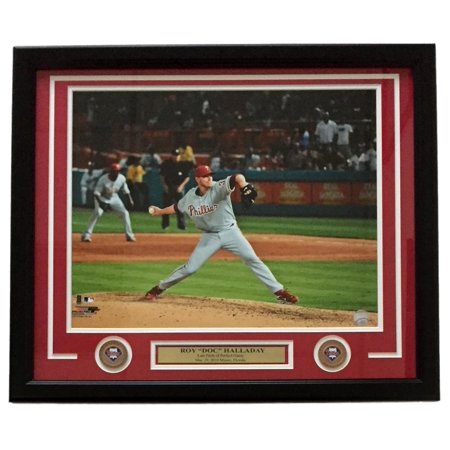 Roy Halladay Framed Philadelphia Phillies Perfect Game 16X20 Photo
