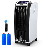 Costway Evaporative Portable Air Conditioner Cooler Fan Anion Humidify W/ Remote Control