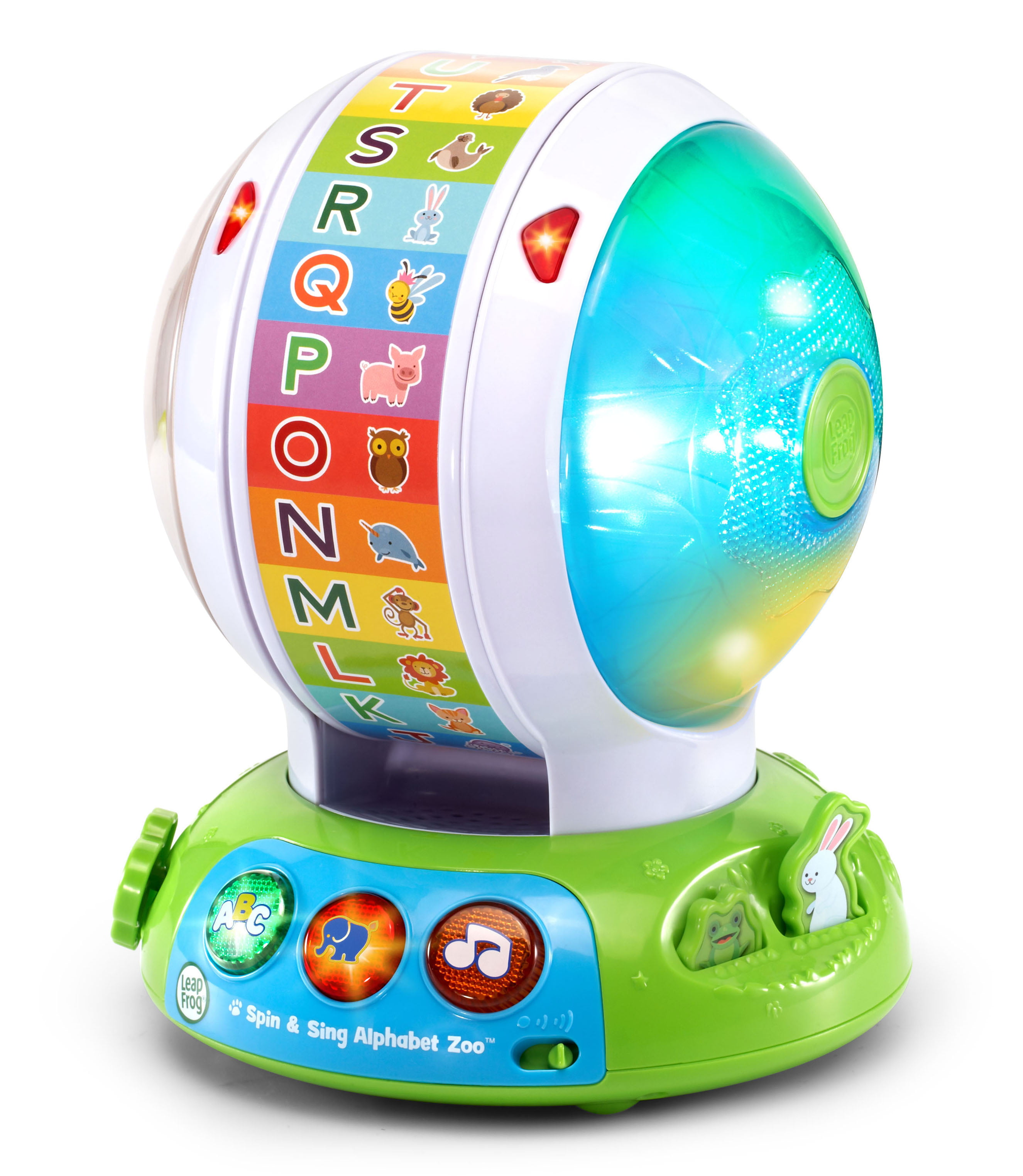 LeapFrog Spin and Sing Alphabet Zoo, Interactive Teaching Toy for Baby -  Walmart.com - Walmart.com