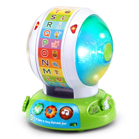 Spin & Sing Alphabet Zoo - 1 Year Old Learning Toys