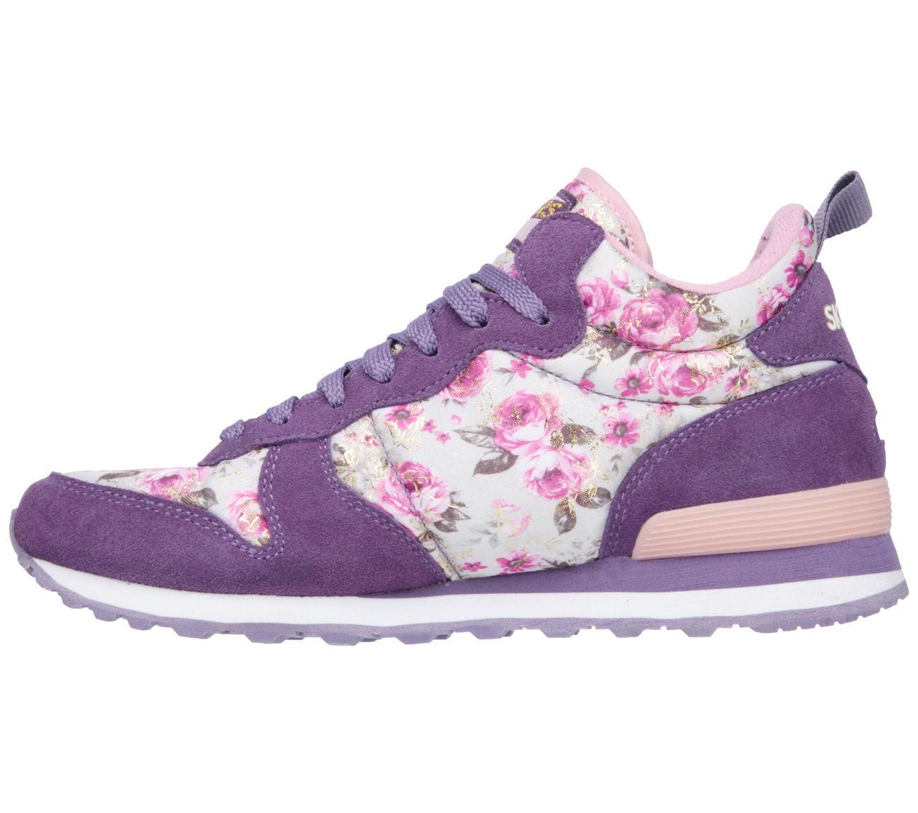 b7e77f057613 SKECHERS - Skechers 121 PRPK Women s OG 85-HOLLYWOOD ROSE Sneaker -  Walmart.com