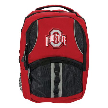 "NCAA Ohio State Buckeyes ""Captain"" 18.5""H x 8""L x 13""W Backpack"