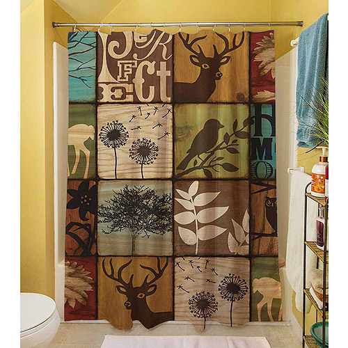 "Thumbprintz Perfect Harmony Shower Curtain, 71"" x 74"""