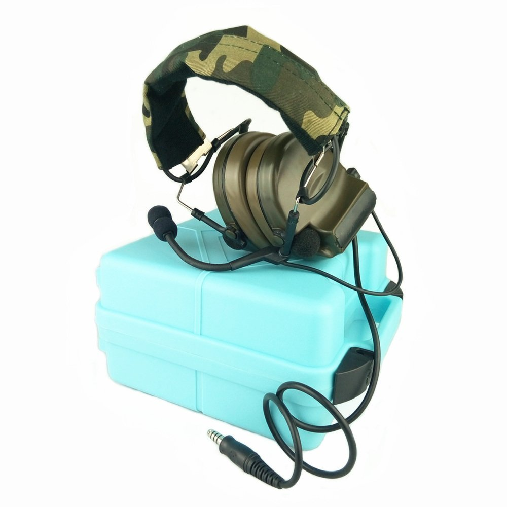 Z Tactical Headset Headphone COMTAC 2 Style Noise Reducti...