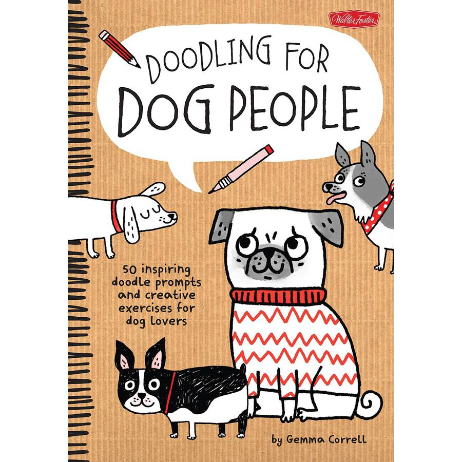 Walter Foster Creative Books Doodling for Dog People