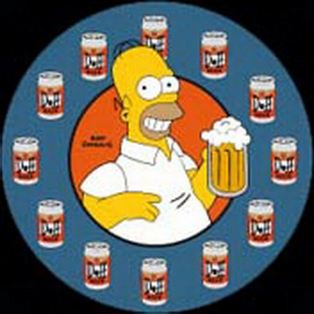 Simpsons Duff Time Button (Timer Button)