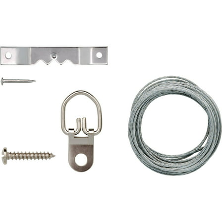 Hanging Kit Wire (Arrow Wire or Sawtooth Picture-Hanging)