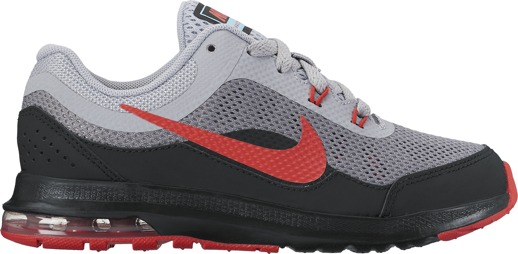Nike Boy's Nike Air Max Dynasty 2 (PS) Shoes Wolf Grey Max Orange-Black-White 12.5C by Nike