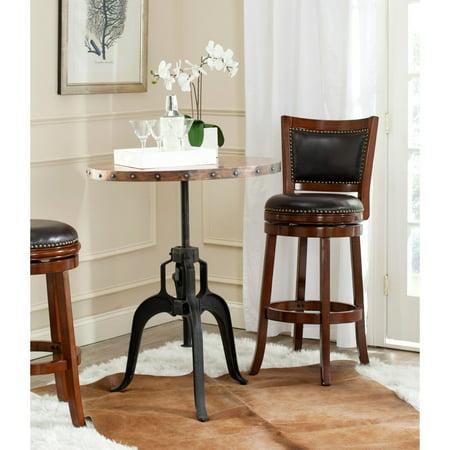 Copper Creek Furniture (Safavieh Nesta Crank Table, Black and Copper)