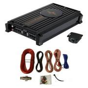 Precision Power P1000.1 1000W MONO Class D Car Audio Amplifier + 4 Gauge Amp Kit