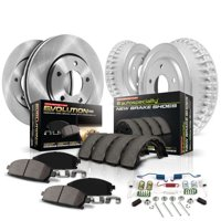 Power Stop Front and Rear Stock Replacement Drum and Shoe Kit KOE15204DK