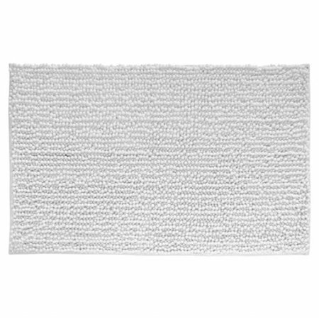 Image of 20 x 30 Frizz Rug White, Pack of 3