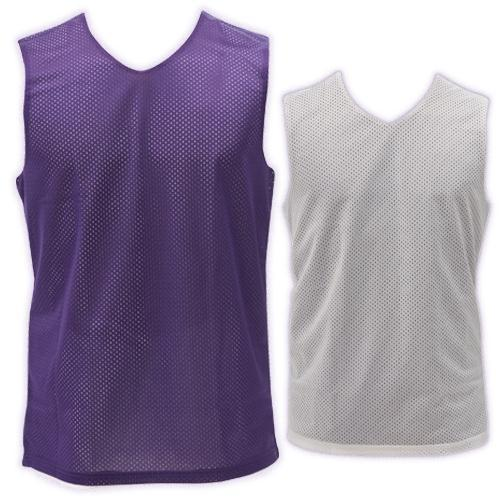 Women's Reversible Jersey-Color:Scarlet/White,Size:Large
